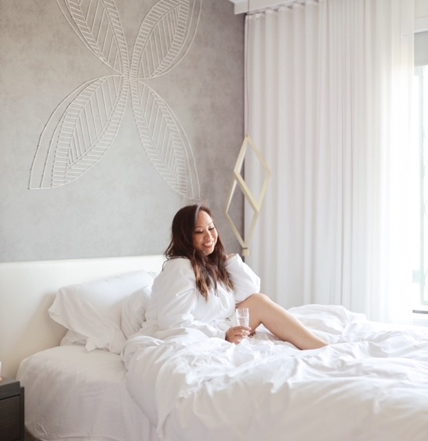 LA Tastemaker Maxine Tatlonghari Staycation at Luxury Boutique Hotel La Peer Hotel